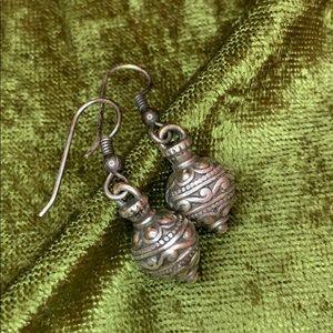 Silver Brighton Drop Earrings